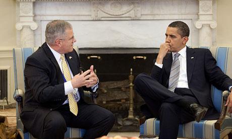 Scott Gration Kenya ambassador. Scott Gration talks with Barack Obama