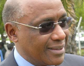 Tanzanian Minister responsible for Tourism, Mr Khamis Kagasheki