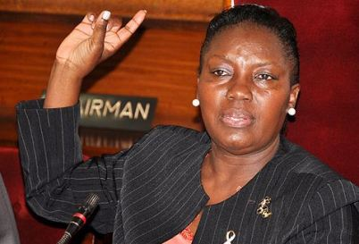 The Speaker of Parliament Rebecca Kadaga is furious with Uganda President