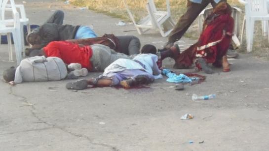 Hawa ndiyo waanga wa tukio la bomu la tarehe 15 Juni 2013 katika viwanja vya Soweto jijini Arusha.
