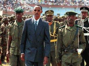 Kagame General Troops