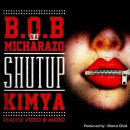 """VIDEO: MR BLUE AKIWA NA VIJANA WA B.O.B MICHARAZO WAMEACHIA KICHUPA KIPYA KIITWACHO """"SHUT UP""""(KIMYA)."""